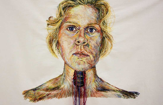 Blood, Guts, and Yarn... Knitting and Embroidery by Candace Couse