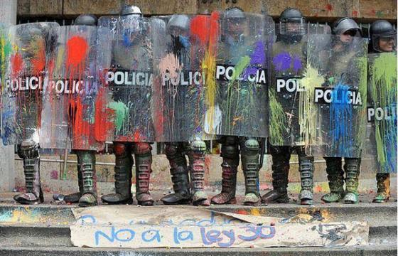 Painted Policia