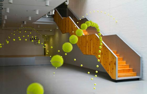 How to Bounce 2,000 Tennis Balls Without Bouncing Them