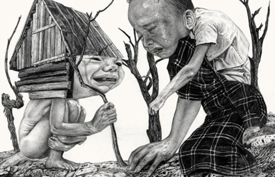 Bizarre and Disturbing Illustrations by Nicola Alessandrini