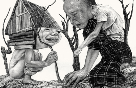 Bizarre and Disturbing Illustrations by Nicola Alessandrini