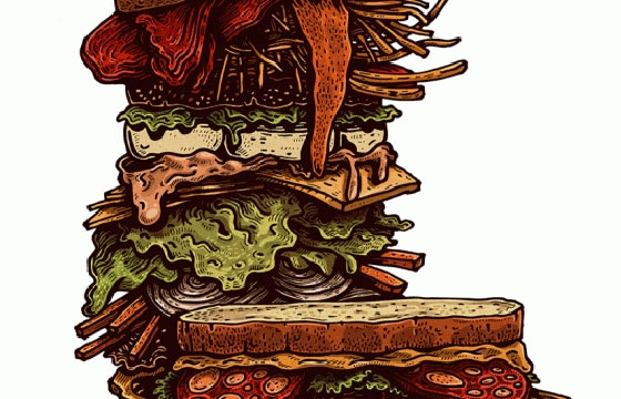 Jorge Tabanera's Illustrations to Eat About