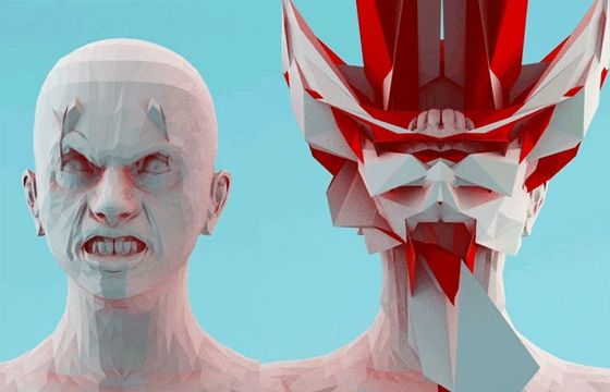 Mike Pelletier's Haunting 3D Animations of Human Emotions