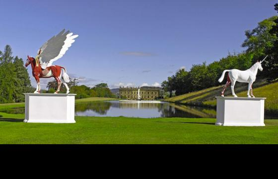 Damien Hirst @ Chatsworth House for Beyond Limits