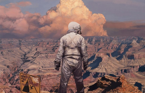 This Is America: Scott Listfield Explores the Empty Terrain @ Thinkspace Projects