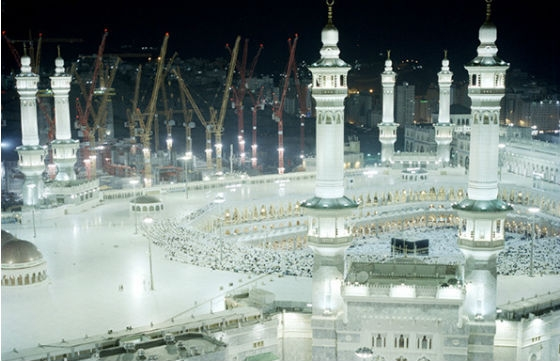 Photographs of Mecca by Toufic Beyhum