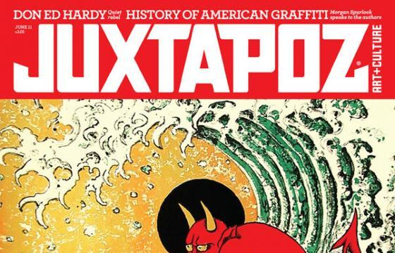 Don Ed Hardy for Juxtapoz June 2011 Issue