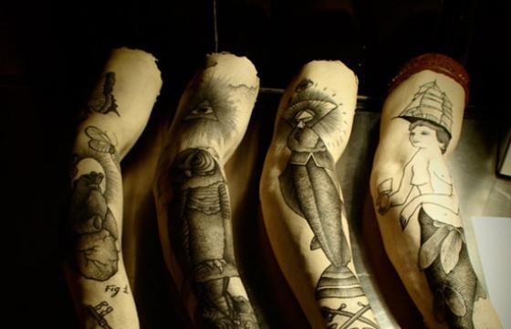 Guy le Tatooer's Tattooed Arm Exhibition