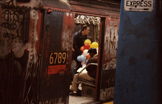 New York in the '80s by Frank Horvat