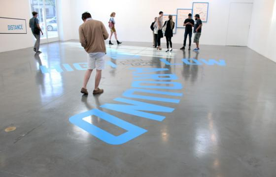 In L.A.: Lawrence Weiner @ Regen Projects