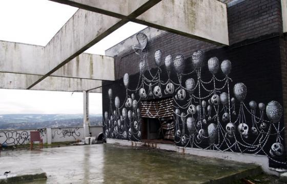 High Above with Phlegm