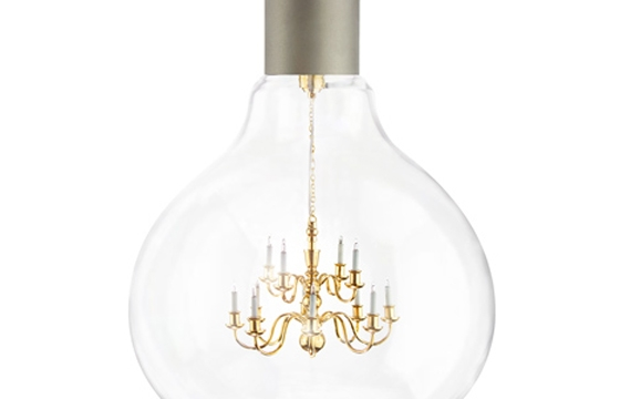 King Edison Pendent Lamp by Young & Battaglia