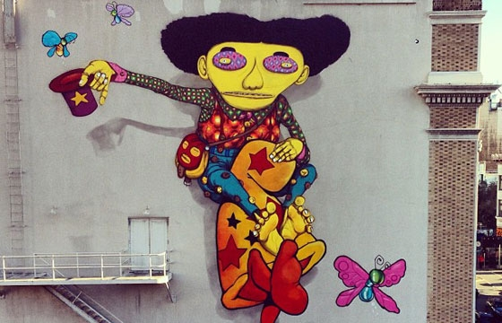 Os Gemeos x Mark Bode in San Francisco