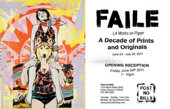 POST NO BILLS to Launch with FAILE Retrospective