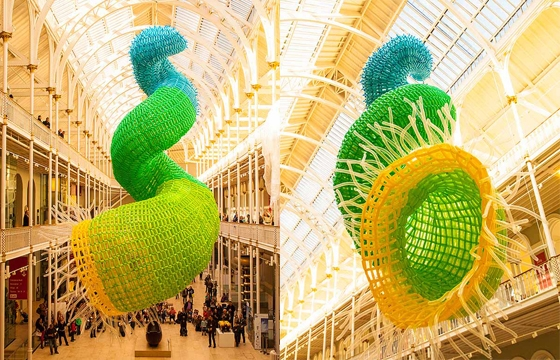 10,000 balloon sculpture by Jason Hackenwerth
