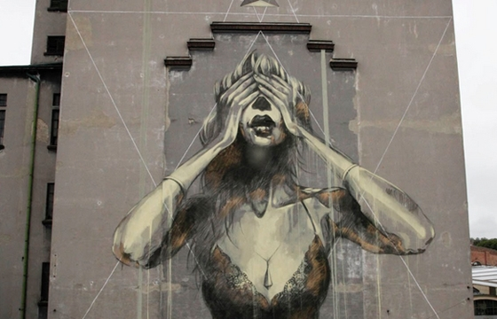 """The Immense Gap Between Past And Future"" by Faith 47 in Vienna"