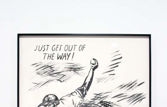In L.A.: Raymond Pettibon: Desire in Pursuyt of the Whole