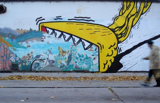 In Street Art: The Works of Kryot