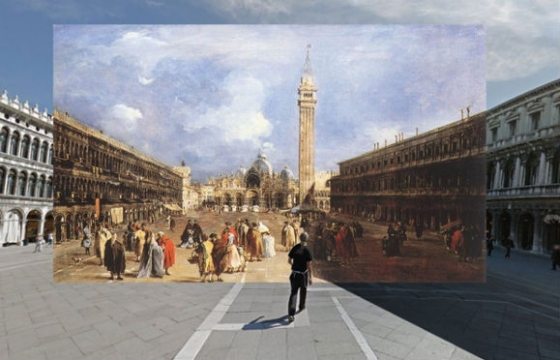 Classic Paintings in Google Street View