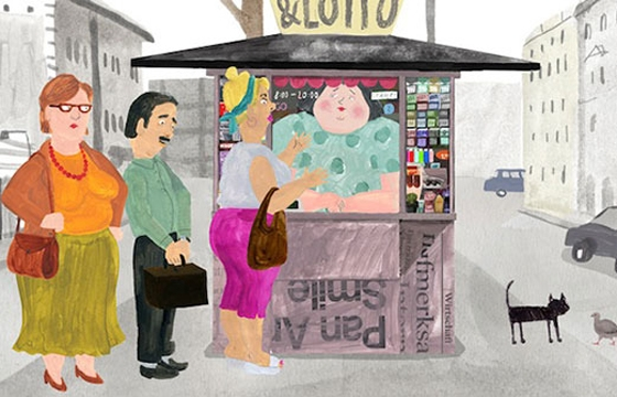 "Animation: Anete Melece's ""The Kiosk"""
