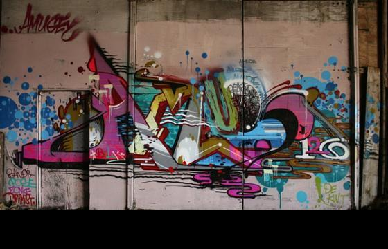 Graffiti Spotlight: AMUSE
