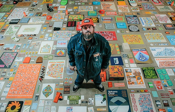 "Living off the Wall: ""Aaron Draplin & The Art of the Side Hustle"""