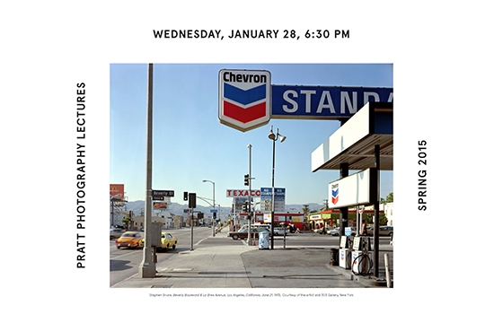 PRATT PHOTOGRAPHY LECTURES - Stephen Shore and Peter Kayafas
