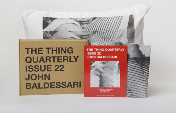 The Thing Quarterly, Issue 22: John Baldessari