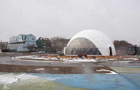 MoMA PS1's Geodesic Dome Opening Friday