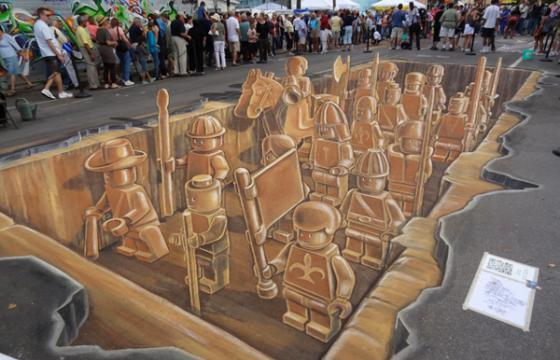 The Fourth Annual Sarasota Chalk Festival