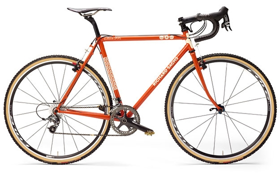 Richard Sachs x House Industries Bicycle
