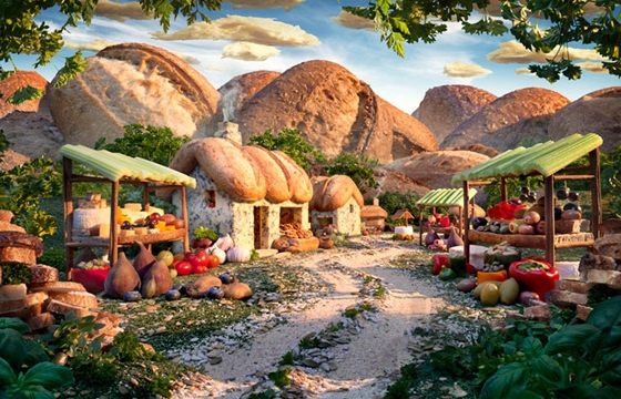 "Carl Warner's ""Foodscapes"""