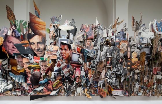 Geoffrey Farmer's Sculptural Collages