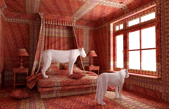 Farid Rasulov's Carpeted Rooms