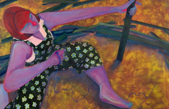 Beauty of the Burden: Genevieve Cohn's New Paintings Transformed Into Virtual Experience