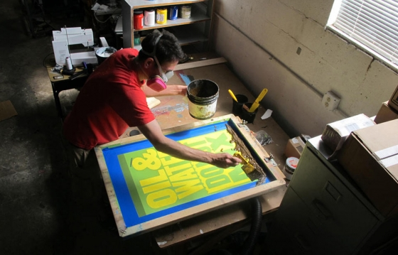Anthony Burrill: The Sun Shines Here Everyday