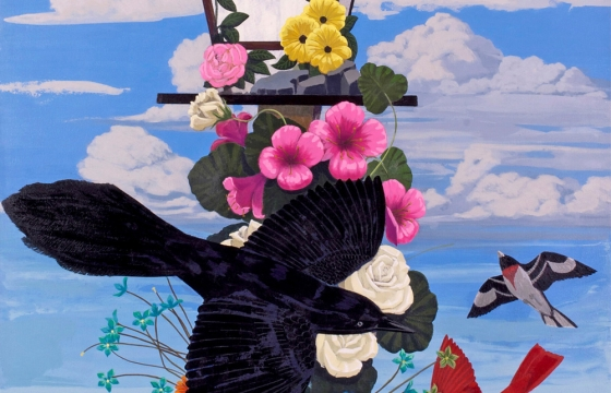 """Kerry James Marshall References the Works John James Audubon's """"The Birds of America"""" in Stunning New Works"""