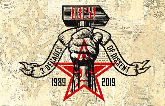 "Shepard Fairey Set to Launch ""Facing The Giant,"" a Full World Tour Celebrating 30 Years of Obey Giant"