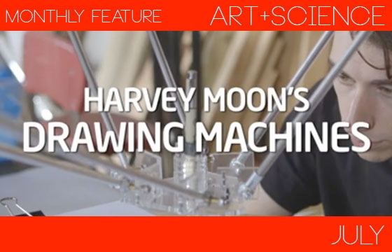 Harvey Moon's Drawing Machines