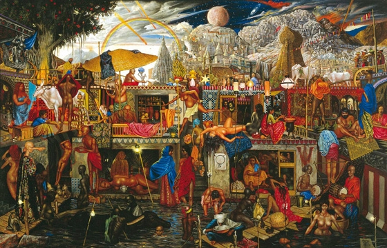 Surreal Paintings by Abdul Mati Klarwein