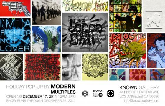 Known Gallery x Modern Multiples Pop-Up Show
