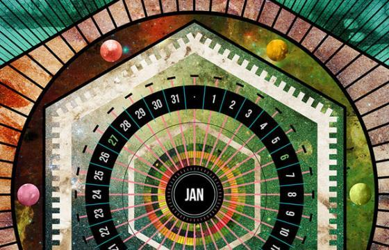 COSMOS MMXIII: A New Year Calendar from Jorge Fuentes