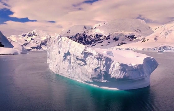 What Antarctica Looks Like When Shot by Drone Footage
