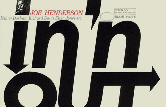 The Typography of Blue Note Album Covers