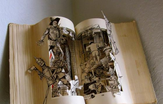 Book Sculptures by Susan Hoerth
