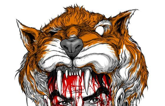 Alex Pardee on Tiger Blood, and a Chance to Win the Original Drawing