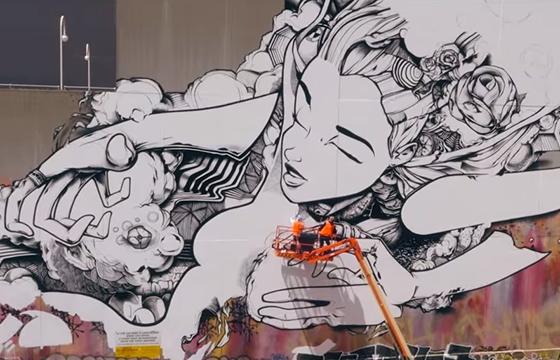 video: Sofles Graffiti Mapped