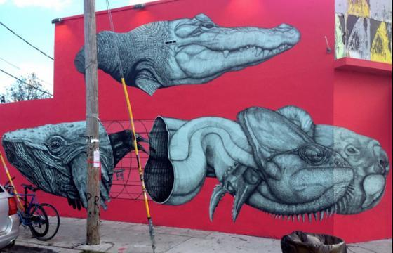 La Pandilla New Mural in Miami