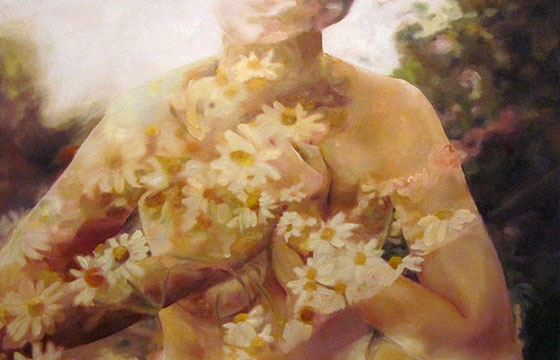 Double-Exposure Paintings from Pakayla Rae Biehn