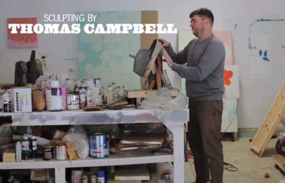 Juxtapoz Exclusive: Thomas Campbell Work In Progress [Part Two]